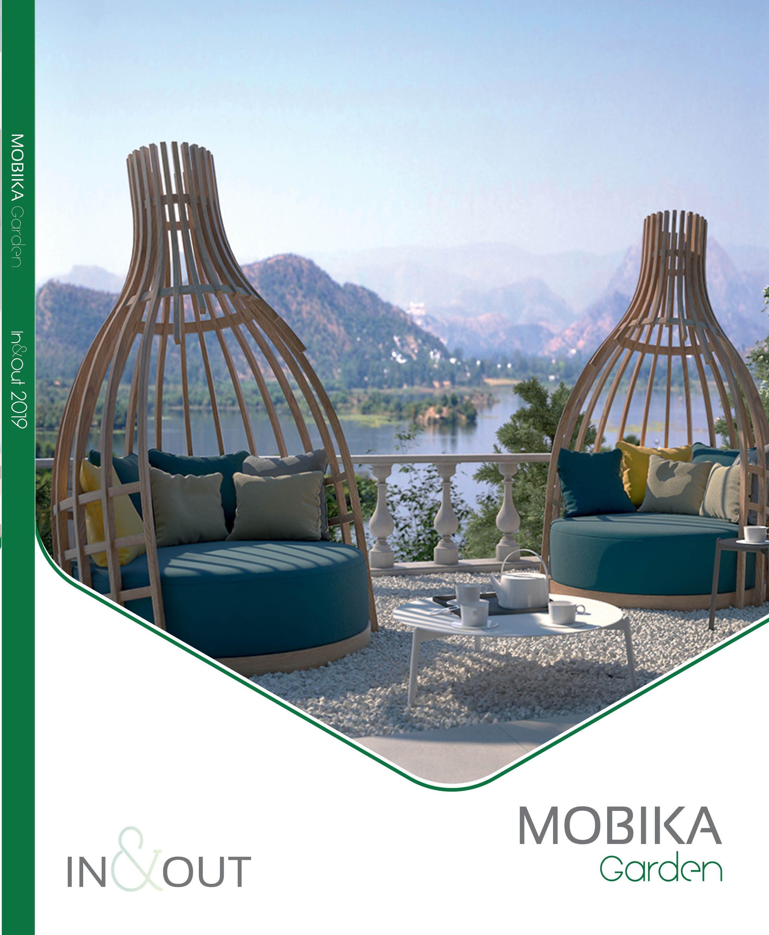 Découvrez notre mobilier de jardin design - Mobika Garden