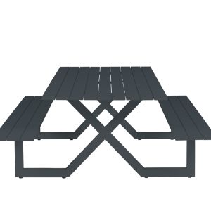 table Aria anthracite